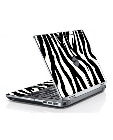 Zebra Dell E6520 Laptop Skin