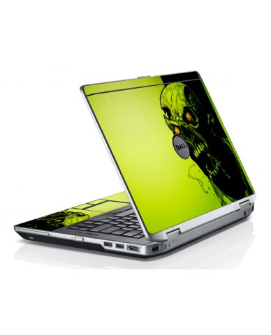 Zombie Face Dell E6520 Laptop Skin