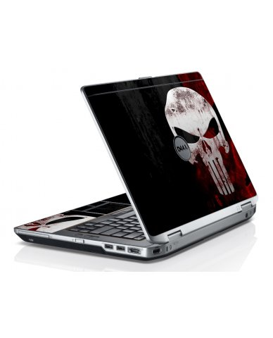Punisher Skull Dell E6530 Laptop Skin