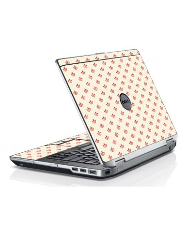White And Pink Versailles Dell E6530 Laptop Skin
