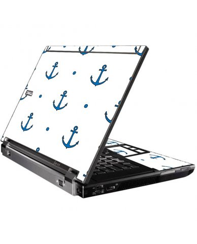 Blue Anchors Dell  M4400 Laptop Skin