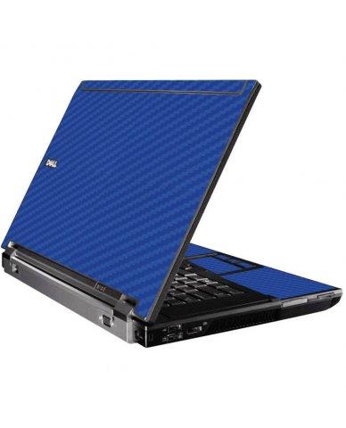 Blue Carbon Fiber Dell M4400 Laptop Skin