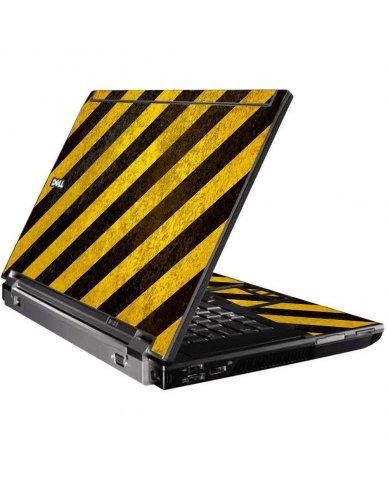 Caution Stripes Dell M4400 Laptop Skin