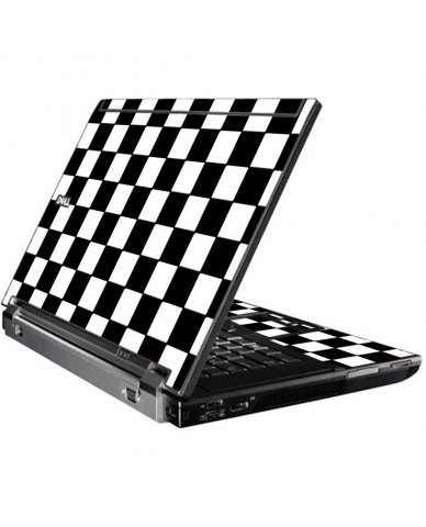 Checkered Dell M4400 Laptop Skin