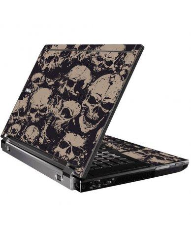 Grunge Skulls Dell M4400 Laptop Skin