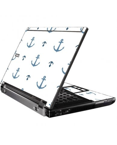 Multi Blue Anchors Dell M4400 Laptop Skin