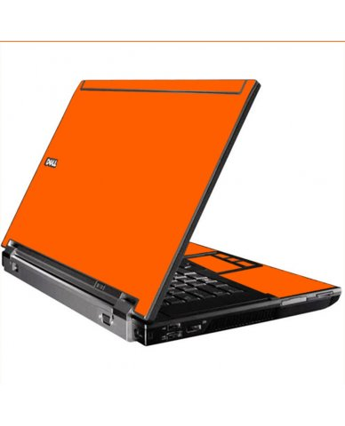 Orange Dell M4400 Laptop Skin