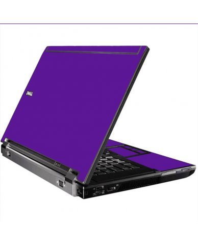 Purple Dell M4400 Laptop Skin