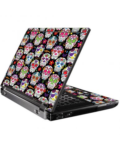 Sugar Skulls Seven Dell M4400 Laptop Skin