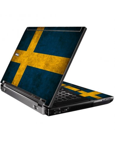 Swedish Flag Dell M4400 Laptop Skin