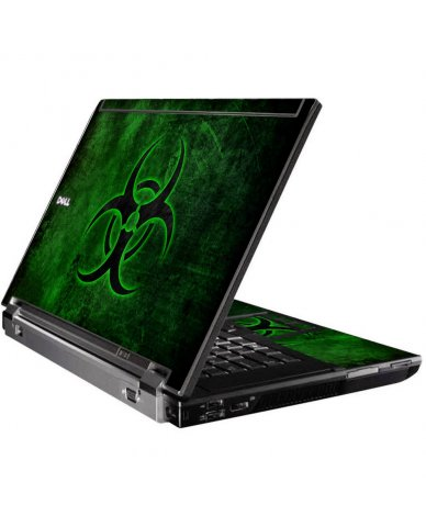 Green Biohazard Dell M4500 Laptop Skin