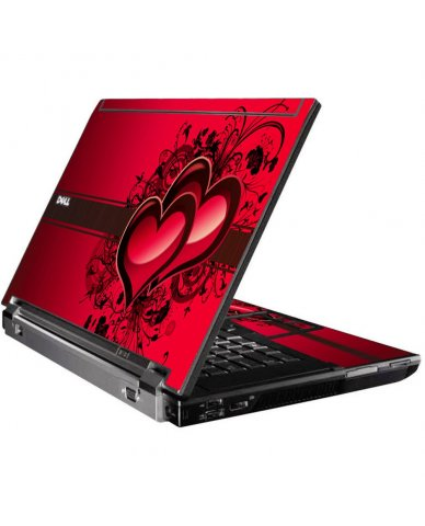 Love Heart Dell M4500 Laptop Skin