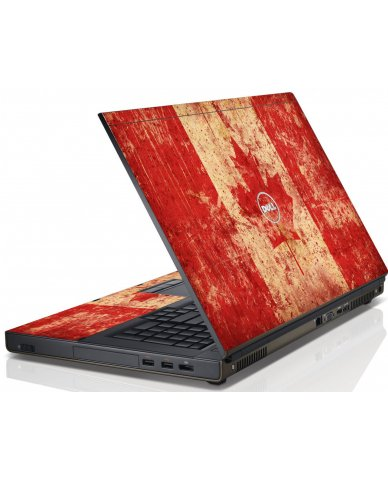 Canada Flag Dell M4600 Laptop Skin