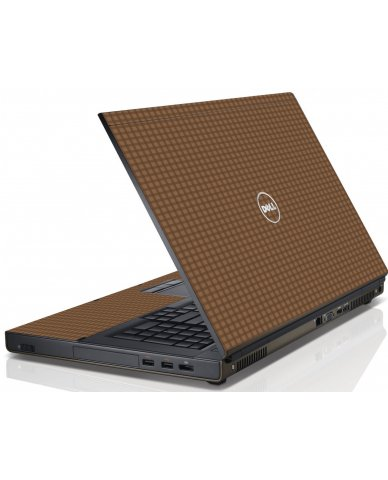 Dark Gingham Dell M4600 Laptop Skin