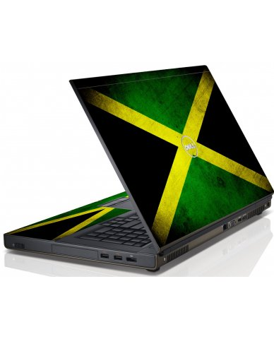 Jamaican Flag Dell M4600 Laptop Skin
