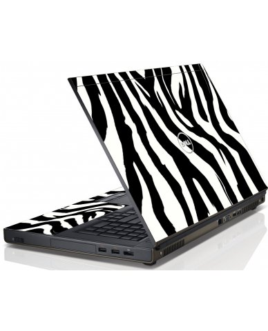 Zebra Dell M4600 Laptop Skin
