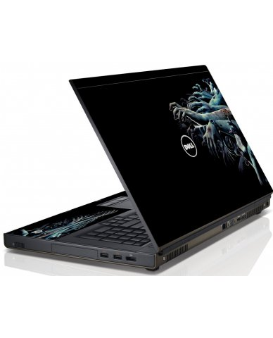 Zombie Hands Dell M4600 Laptop Skin