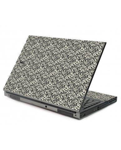 Black Versailles Dell M6400 Laptop Skin