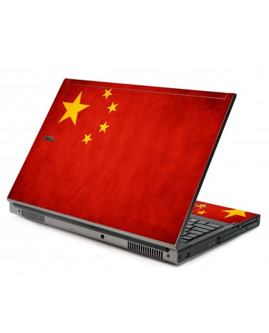 Flag Of China Dell M6400 Laptop Skin
