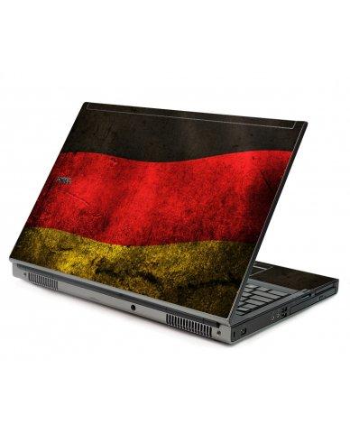 German Flag Dell M6400 Laptop Skin