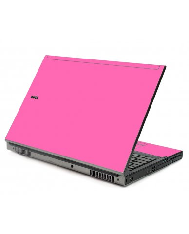 Pink Dell M6400 Laptop Skin