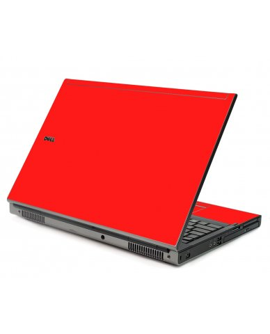 Red Dell M6400 Laptop Skin