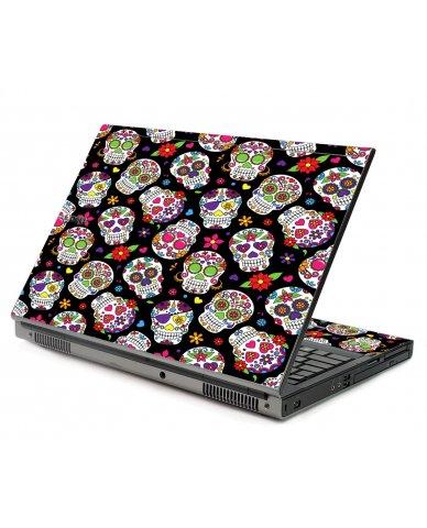 Sugar Skulls Dell M6400 Laptop Skin