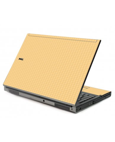 Warm Gingham Dell M6400 Laptop Skin