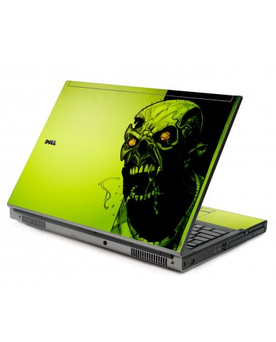 Zombie Face Dell M6400 Laptop Skin