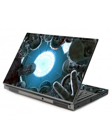 Zombie Horde Dell M6400 Laptop Skin