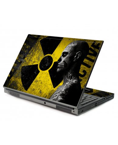 Biohazard Zombie Dell M6500 Laptop Skin