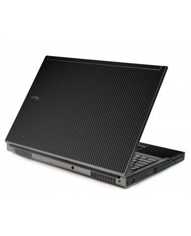Black Carbon Fiber Dell M6500 Laptop Skin