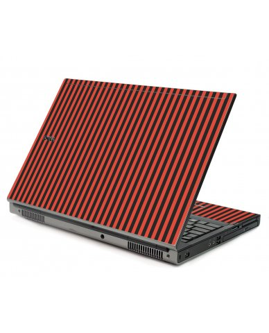 Black Red Versailles Dell M6500 Laptop Skin