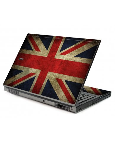 British Flag Dell M6500 Laptop Skin