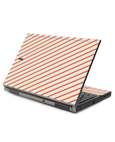 Circus Stripes Dell M6500 Laptop Skin