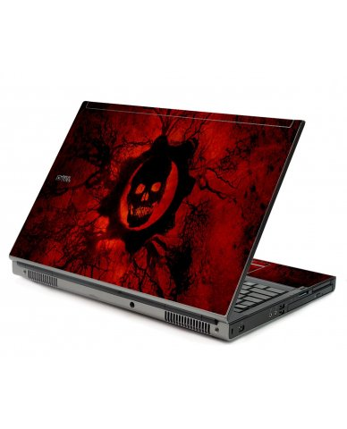Dark Skull Dell M6500 Laptop Skin