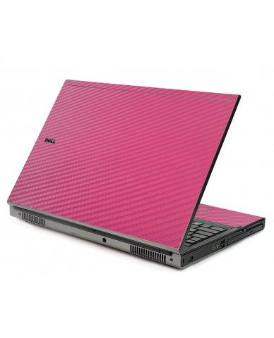 Pink Carbon Fiber Dell M6500 Laptop Skin