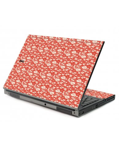 Pink Roses Dell M6500 Laptop Skin
