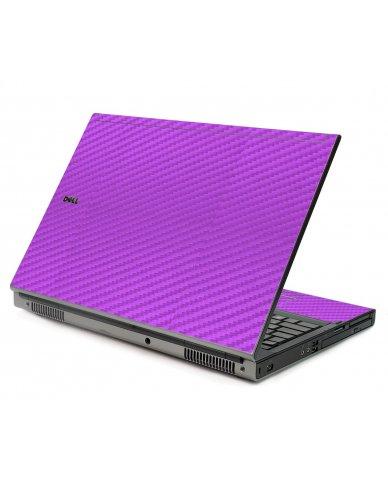 Purple Carbon Fiber Dell M6500 Laptop Skin