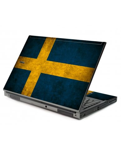 Swedish Flag Dell M6500 Laptop Skin
