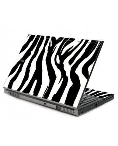 Zebra Dell M6500 Laptop Skin