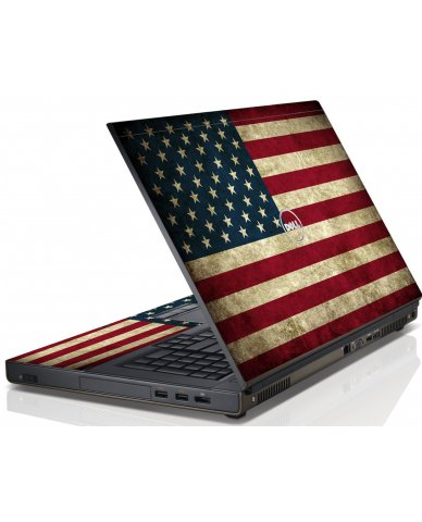 American Flag Dell M6600 Laptop Skin