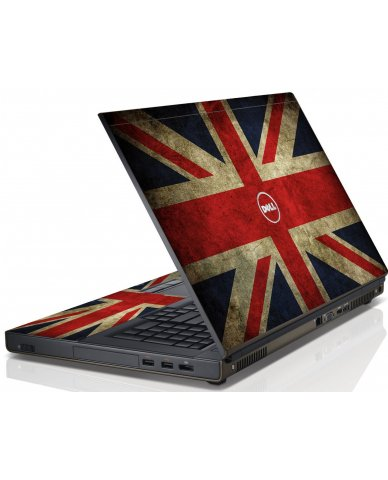 British Flag Dell M6600 Laptop Skin