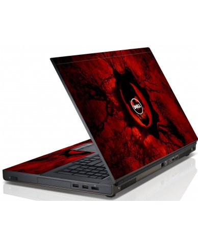 Dark Skull Dell M6600 Laptop Skin