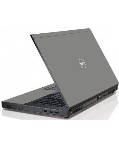 Grey/Silver Dell M6600 Laptop Skin