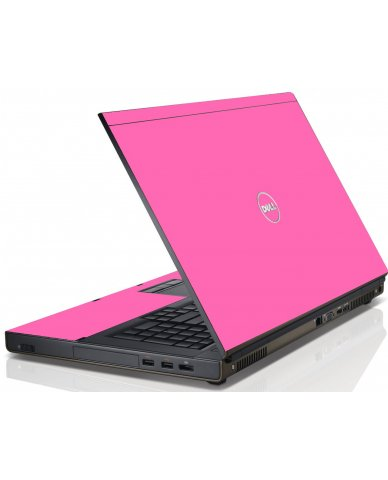 Pink Dell M6600 Laptop Skin