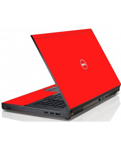 Red Dell M6600 Laptop Skin