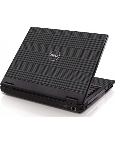 Black Plaid Dell 1320 Laptop  Skin