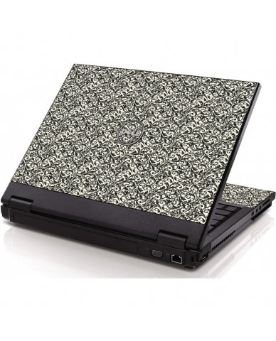 Black Versailles Dell 1320 Laptop Skin