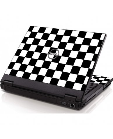 Checkered Dell 1320 Laptop Skin
